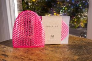 SpaCells Pink Facial Mitt