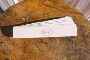 frilly lilly nail file