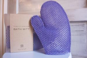 SpaCells Purple Body Mitt